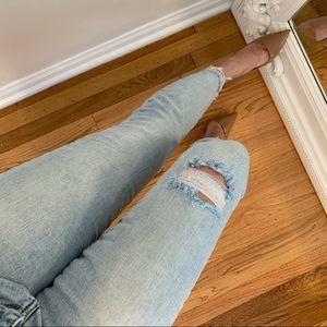 Reposh Miami Cropped Mid-Rise Skinny Jean